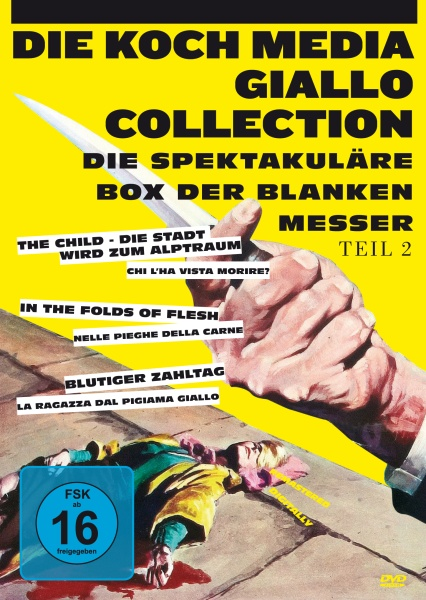 Giallo-Collection, Teil 2 (3 DVDs)