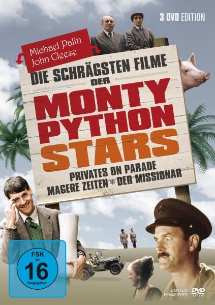 Die schrägsten Filme der Monty Pythons Stars (3 DVDs)