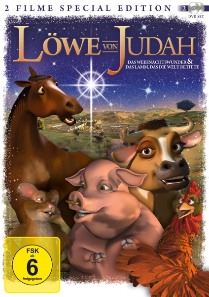 Löwe von Judah - Das Weihnachtswunder & Das Lamm, das die Welt rettete SE 2 Filme (DVD)
