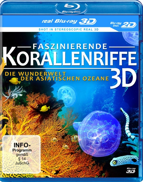 Faszinierende Korallenriffe in REAL 3D (3D BR inkl. 2D-Fassung)