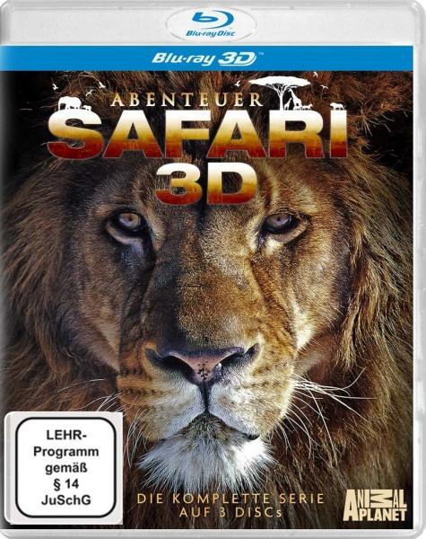 Abenteuer Safari - Die komplette Serie (3 3D Blu-rays inkl. 2D-Fassung)