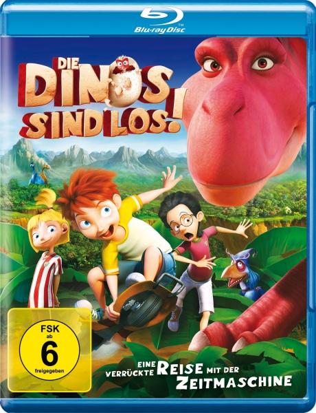 Die Dinos sind los! (Blu-ray)
