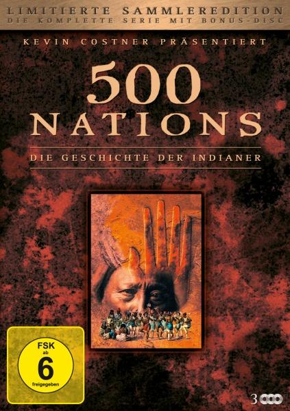 500 Nations: Die Geschichte der Indianer - Limitierte Sammleredition (3 DVDs)