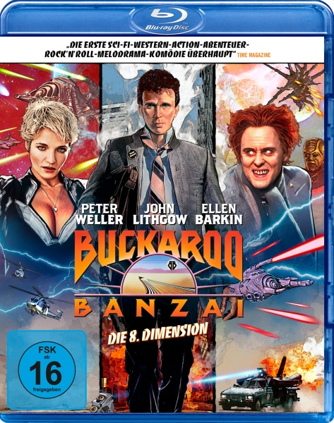 Buckaroo Banzai - Die 8. Dimension: Special Edition (Blu-ray)