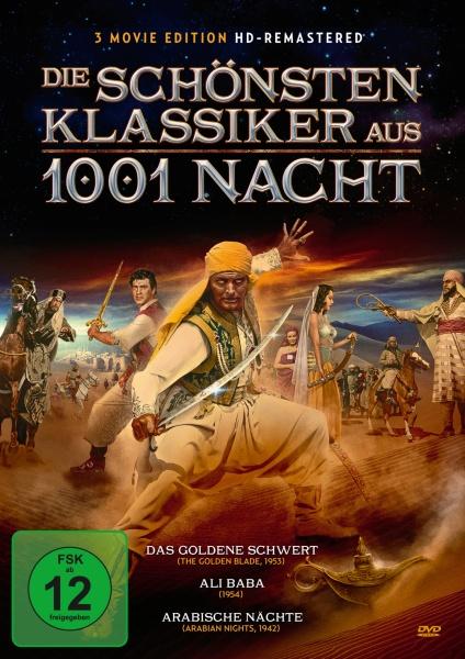 Die schönsten Klassiker aus 1001 Nacht (3 DVDs)