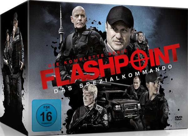 Flashpoint: Das Spezialkommando - Die komplette Serie (24 DVDs)