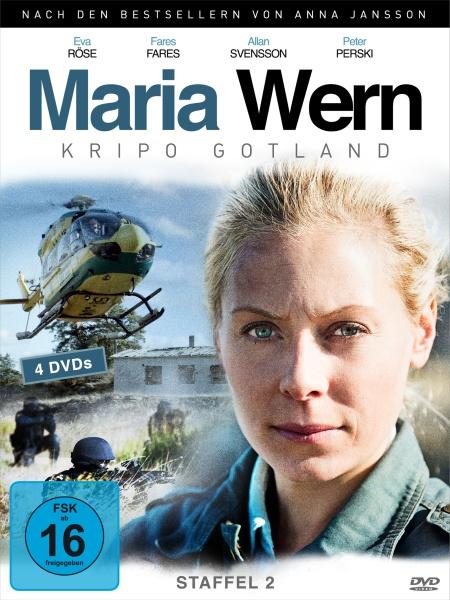 Maria Wern, Kripo Gotland - Staffel 2 (4 DVDs)