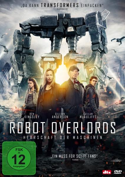 Robot Overlords - Herrschaft der Maschinen (DVD)