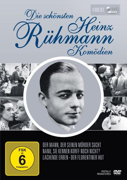 Die schönsten Heinz Rühmann Komödien (Neuauflage) (4 DVDs)