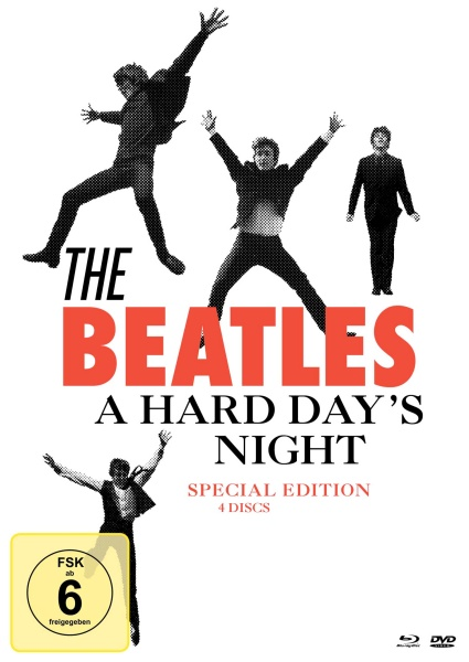 A Hard Day's Night - Special Edition (1 Blu-ray + 3 DVDs)