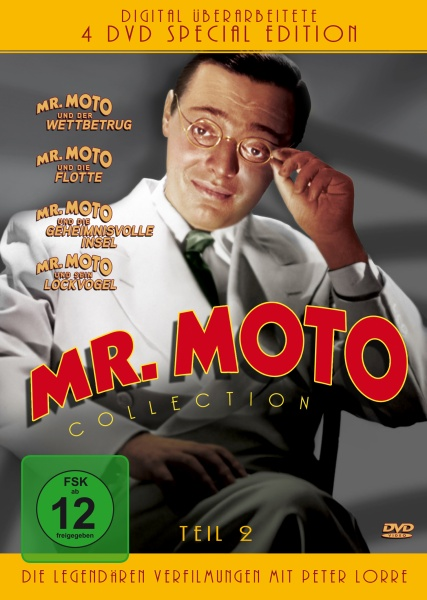 Mr. Moto Collection - Teil 2 (4 DVDs)