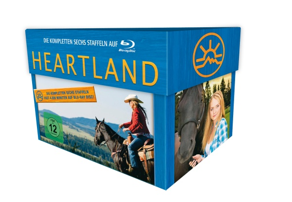 Heartland - Komplettbox in HD (23 Blu-rays)