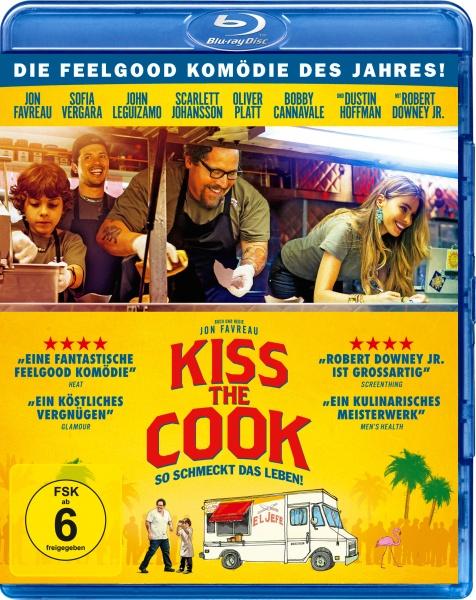 Kiss the Cook - So schmeckt das Leben! (Blu-ray)