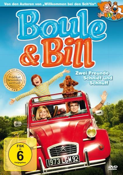 Boule & Bill - Zwei Freunde Schnief und Schnuff (DVD)