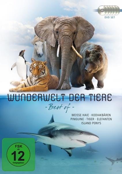 Wunderwelt der Tiere - Best Of (6 DVDs)