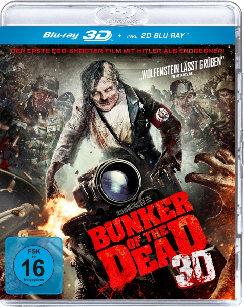 Bunker of the Dead 3D (3D Blu-ray)