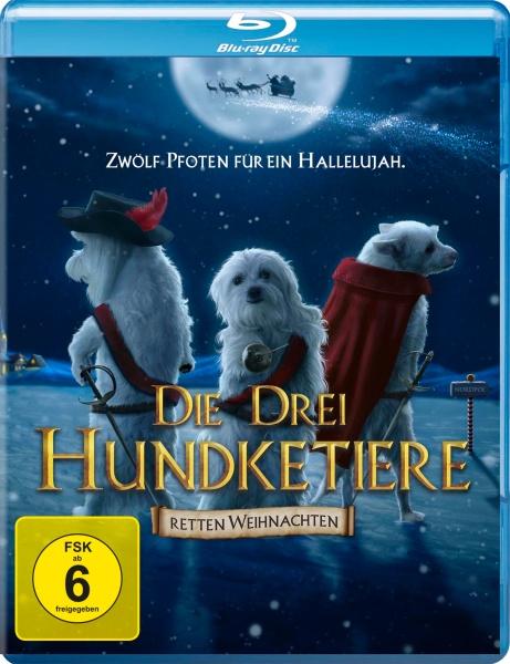 Die drei Hundketiere retten Weihnachten (Blu-ray)