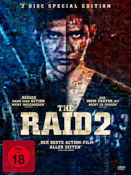 The Raid 2 - 2 Disc Special Edition (2 DVDs)