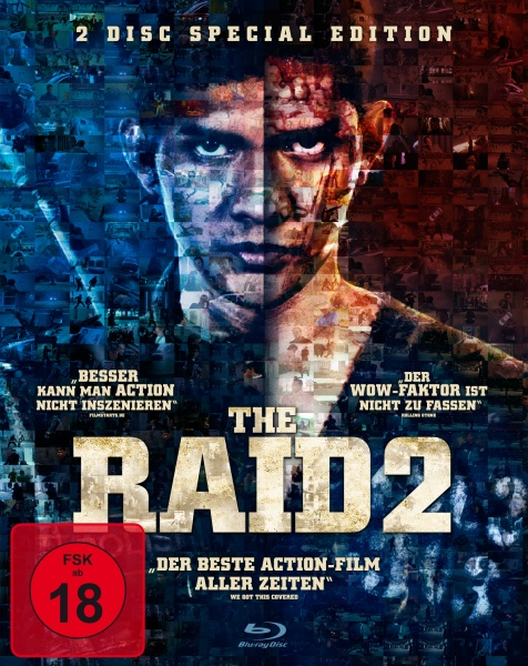 The Raid 2 - 2 Disc Special Edition (2 Blu-rays)