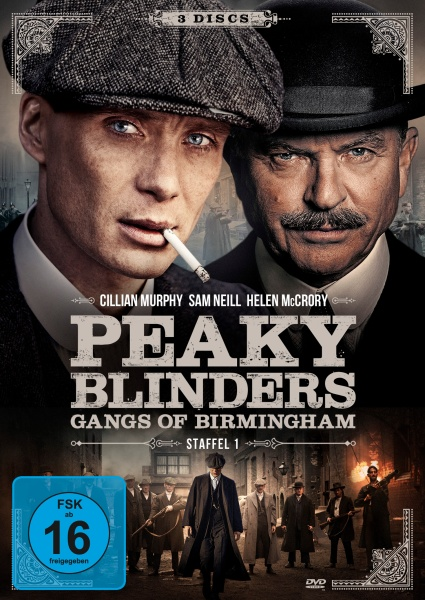 Peaky Blinders - Gangs of Birmingham - Staffel 1 (3 DVDs)