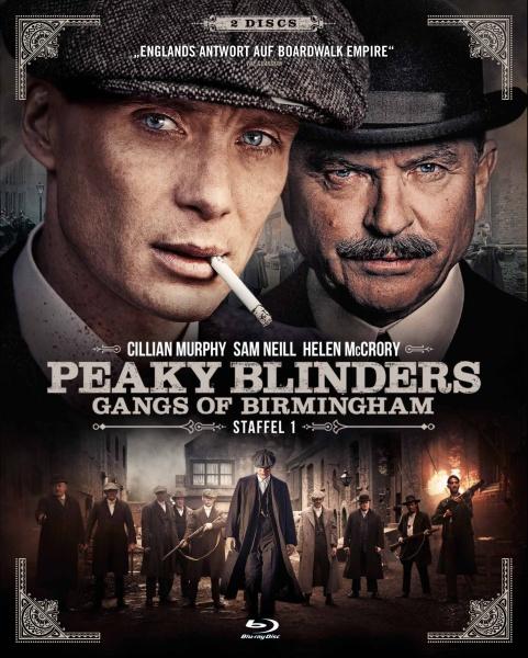 Peaky Blinders - Gangs of Birmingham - Staffel 1 (2 Blu-rays)