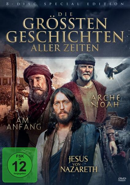 Die größten Geschichten aller Zeiten (8 DVDs)