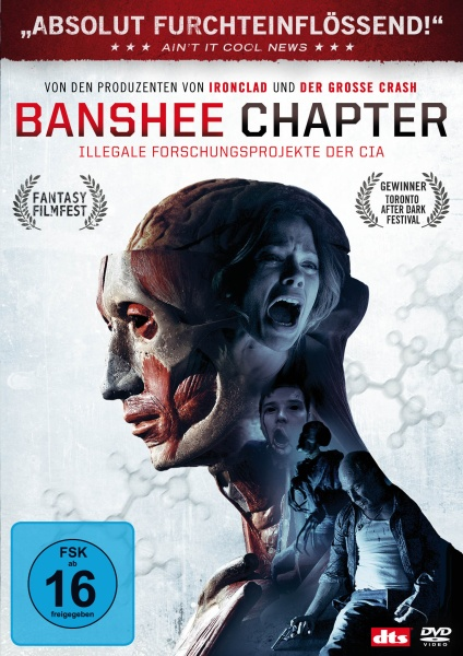Banshee Chapter - Illegale Experimente der CIA (DVD)