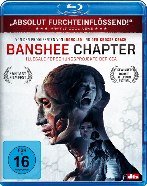 Banshee Chapter - Illegale Experimente der CIA (Blu-ray)