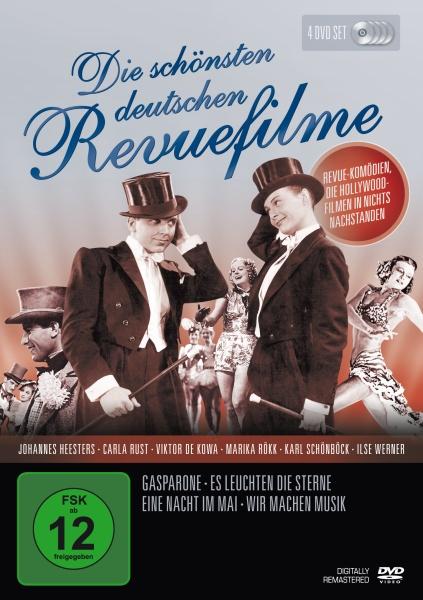 Die schönsten deutschen Revue-Filme (4 DVDs)
