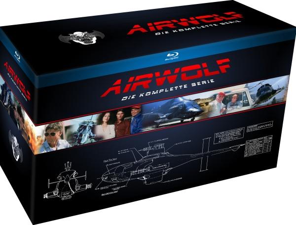 Airwolf - Die komplette Serie (18 Blu-rays)