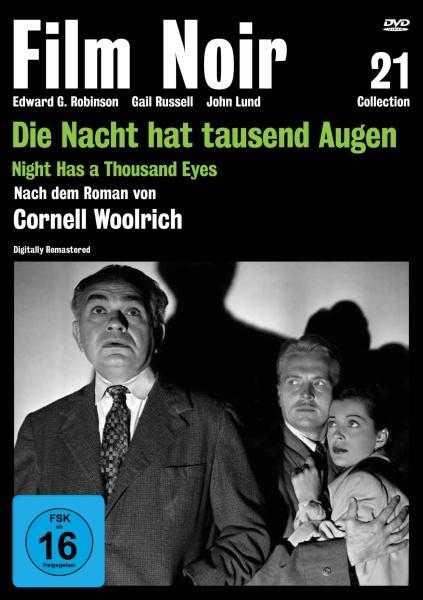 Film Noir Collection #21: Die Nacht hat tausend Augen (DVD)