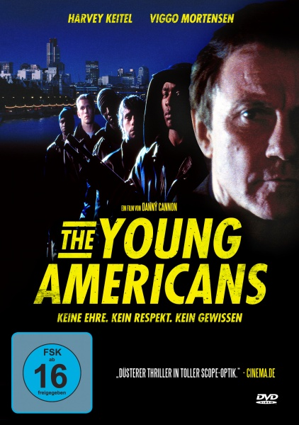 Young Americans - Todesspiele (DVD)