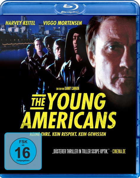Young Americans - Todesspiele (Blu-ray)