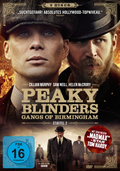 Peaky Blinders - Gangs of Birmingham - Staffel 2 (3 DVDs)