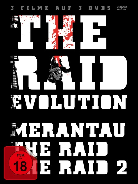 The Raid - Evolution (The Raid 1 & 2 & Merantau) (3 DVDs)