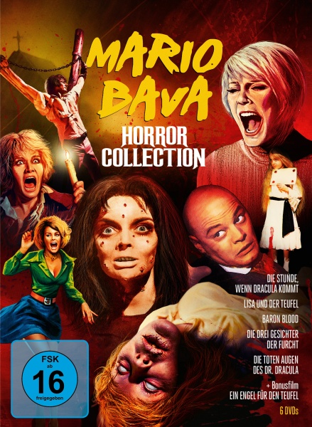 Mario Bava Horror Collection (6 DVDs)