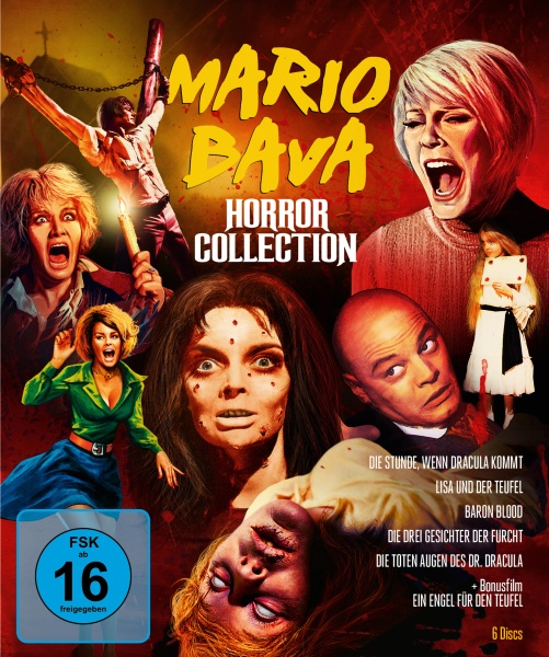 Mario Bava Horror Collection (5 Blu-rays + 1 DVD)