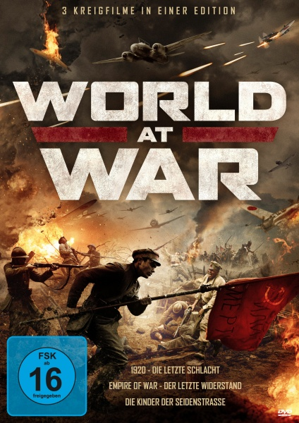 World At War - Drei Kriegsfilme in einer Edition (3 DVDs)