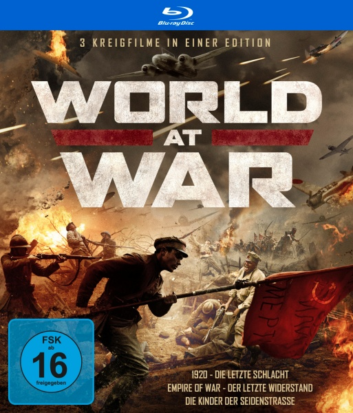 World At War - Drei Kriegsfilme in einer Edition (3 Blu-rays)