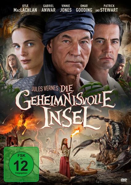 Jules Verne: Die geheimnisvolle Insel (DVD)