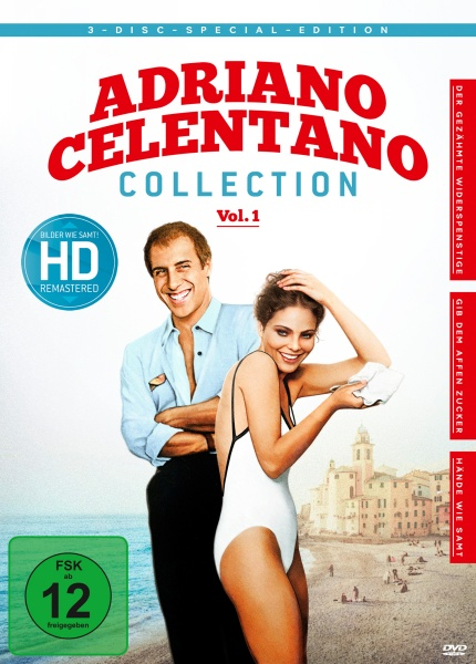 Adriano Celentano - Collection Vol. 1 (3 DVDs)
