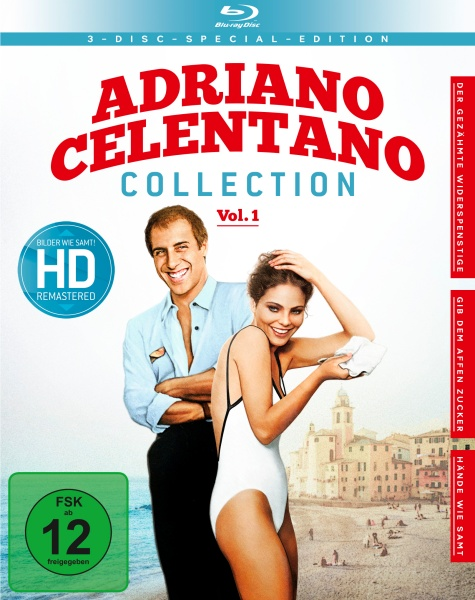 Adriano Celentano - Collection Vol. 1 (3 Blu-rays)