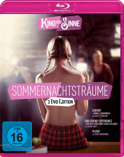 Sommernachtsträume #2 (Cherry, The Girlfriend Experience, Plush) (3 Blu-rays)