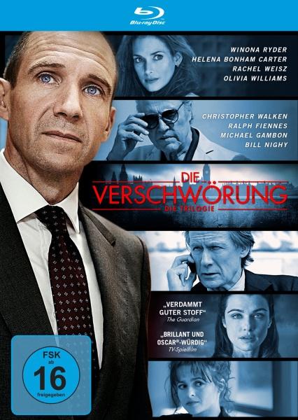 Die Verschwörung: Die Trilogie (3 Blu-rays)