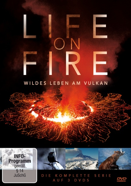 Life on Fire - Wildes Leben am Vulkan (3 DVDs)