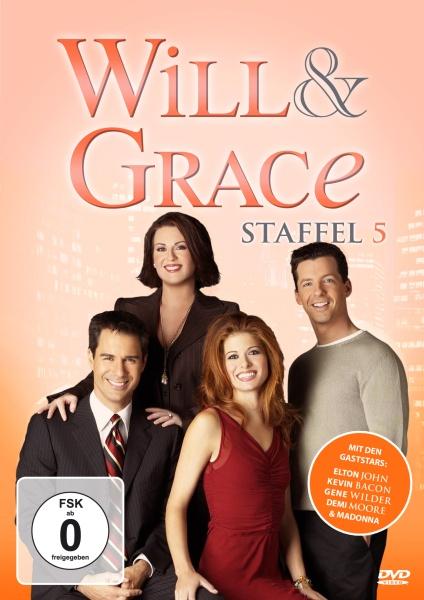 Will & Grace - Staffel 5 (4 DVDs)