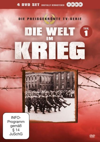 Die Welt im Krieg - Box 1 (Neuauflage) (4 DVDs)