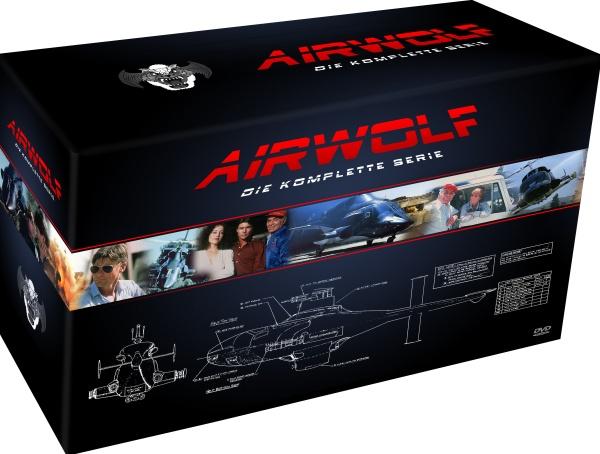 Airwolf - Die komplette Serie (21 DVDs)