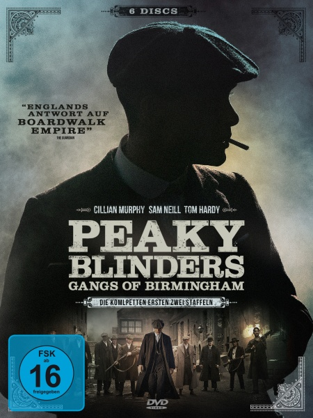 Peaky Blinders - Gangs of Birmingham - Staffel 1 & 2 (6 DVDs)