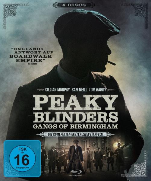 Peaky Blinders - Gangs of Birmingham - Staffel 1 & 2 (4 Blu-rays)